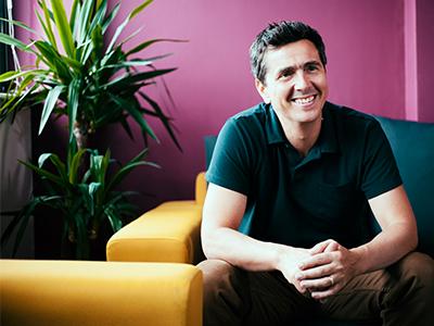 Jonathan Serjeant, Director for Creative Partnerships