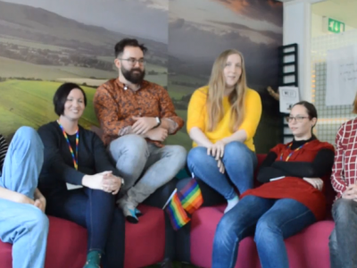Being LGBT+ Here: Encouraging and supporting diversity at work (Video)